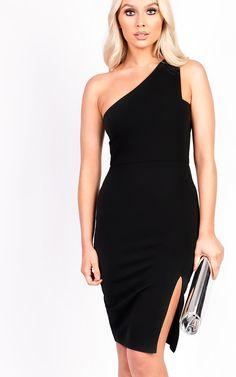 cb7af0b98e1a Kirah One Shoulder Bodycon Dress Thumbnail Black Bodycon Dress, Style  Clothes, Her Style,. ikrush