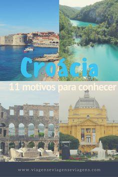 A Croacia é um dos países que se originou com a dissolução da Ex-Iugoslávia, no Leste Europeu. Como o país é banhado pelo Mar Adriático, possui praias lindíssimas e cidades charmosas, tornando-se bem visitado por turistas, principalmente no verão. Segue alguns motivos pra você também conhecê-lo: