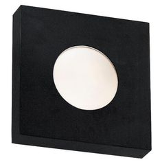 """Burst Black Square 10"""" High Outdoor Ceiling or Wall Light -"""