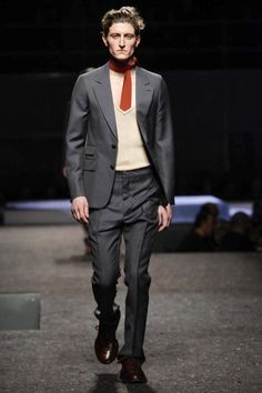 Prada Menswear Fall Winter 2014 Milan - NOWFASHION