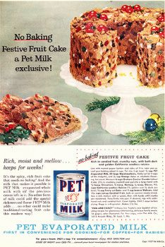 No-Bake Festive Fruit Cake - Retro Recipe Attempts. Just in time for your holiday season....