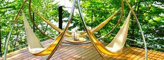 Triple Hammocks — Great Seating Solutions for a Crowd by Trinity Hammocks