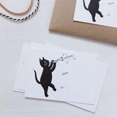 "Mini card ""Surprise"" by Audrey Jeanne"