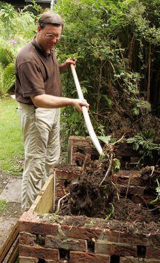 Kompost anlegen - Mit der richtigen Lagerung und Schichtung lässt sich der…
