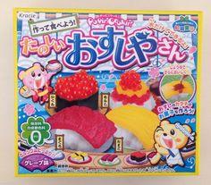 Жевательные конфеты своими руками http://irecommend.ru/content/nabor-zhevatelnykh-konfet-sdelai-sam-kracie-sushi-shop-diy-japanese-candy-making-kit-popin-c