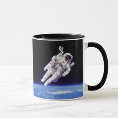 #photo - #NASA Astronaut Jetpack Spacewalk Earth Orbit Photo Mug