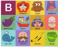 The teacher and his PT class: Phonological awareness Preschool Spanish, Spanish Activities, Preschool At Home, Preschool Lessons, Literacy Activities, Learning Spanish, Activities For Kids, Alphabet Activities, Abc Centers