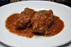 #receta de #Manitas de #Cerdo en #salsa #roja