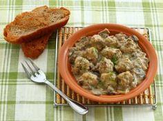 Тефтели из индейки в грибном соусе, пошаговый рецепт с фото