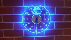 Edge Lit Wall Clock