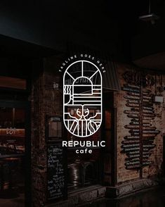 Coffee Shop Branding, Coffee Shop Logo, Graphic Design Branding, Logo Branding, Cafe Icon, Cafe Logo, Artist Logo, Logo Creation, Boutique Logo