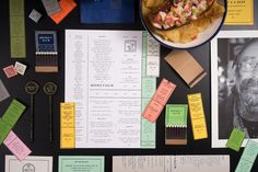 "Brand Identity for Moneygun by Dan Blackman  ""Working with restaurant group 16"" On Center, our focus for this project was to create an identity and brand direction that paid homage to a bygone era of cheap cocktails and shady barflies, and set..."