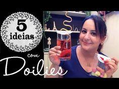 5 IDEIAS COM DOILIES (toalhas de papel rendadas), por Camila Camargo