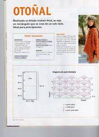 Receitas de Trico e Croche: Receita de Poncho em crochê