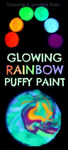 Glowing Paint Recipe ~ Growing A Jeweled Rose