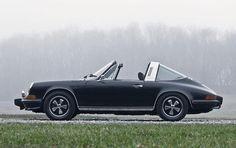 1973 Porsche 911 - E Targa, the year I fell in love with Targa