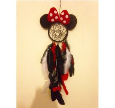 Disney inspired Minnie Mouse dream catcher