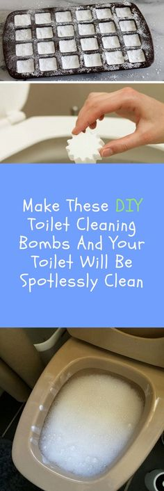 Try these DIY toilet cleaning bombs and it will make your toilet spotless clean without using any harsh chemicals.