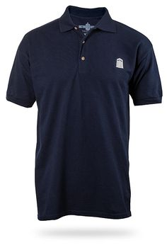 Doctor Who Polo in navy