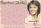 1986 Unsolved Missing - Kim Moreau 17 Missing from Maine