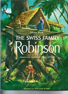 1960 The Swiss Family Robinson Walt Disney by TheIDconnection, $10.00    Retro 1960's Americana    Beautiful illustrations    Http://theidconnection.Etsy.Com