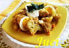 Könnyű a főzés, ha van miből!: Tojásos zsemlemorzsás karfiol
