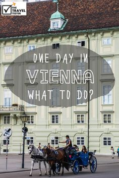 One Day in Vienna? See The Highlights With These Tips || The Travel Tester