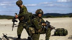 """NATO is envisioning up to 4,000 troops for the force in the Baltic region. The U.S., Britain, Germany and now Canada is considering the request to commit hundreds of troops to eastern Europe. An open source academic research and evaluations report's that """" Russia  is mobilizing for war """" #balticregion #NATOtroops"""