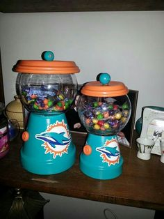 Candy Jars that I hand painted- Angi