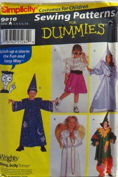 Simplicity 9910 Child's Costume
