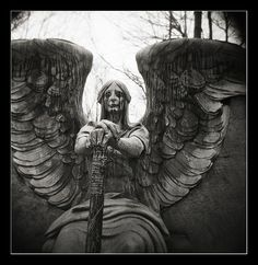 Cleveland Lakeview Cemetery - Weeping Angel
