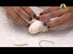 Tudo Artesanal | Ovelha de Pérola por Tatiane Delfino - 26 de Março de 2013 - YouTube