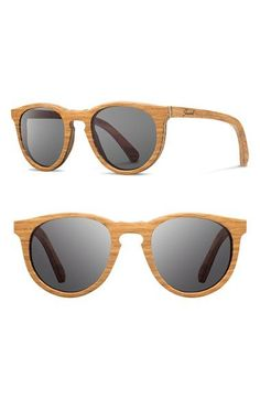 55c23f3cf191 Shwood  Belmont  48mm Wood Sunglasses available at  Nordstrom Ray Ban  Sunglasses