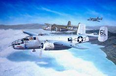 "/""Home To Halesworth/"" Sam Lyons B-24 Liberator Print 489th Bomb Group 1944"