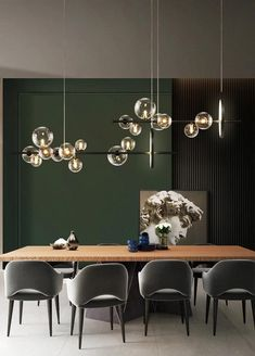 Dining Room Lamps, Dining Chandelier, Bubble Chandelier, Dining Room Bar, Chandelier Lighting, Living Room Lighting Ceiling, Modern Dining Room Lighting, Pendant Lighting Bedroom, Chandelier Ideas