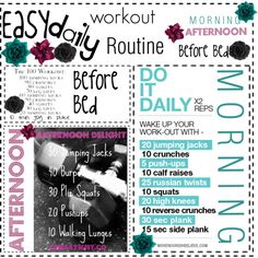 Easy Daily Workout Routine