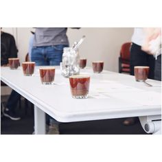 Throwback to our magnificent cupping with @loftedcoffee in March. We're missing our weekly sessions but some fun stuff is in the works. We hope you all have kept caffeinated without the Thursday meetings  http://ift.tt/1U25kLY