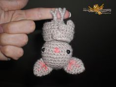 Amigurumi Bat - FREE Crochet Pattern / Tutorial (google translate needed!)