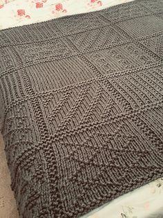 Knitting Squares, Knitting Charts, Knitting Patterns, Knitting Basics, Crochet Patterns, Easy Knit Baby Blanket, Free Baby Blanket Patterns, Baby Booties Knitting Pattern, Baby Knitting