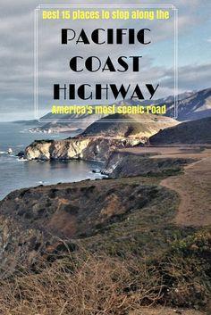 Pacific Coast Highway| the most beautiful road in the US | Stops along the Pacific Coast Highway | California 1| Pacific Hway | Santa Barbara | San Francisco | Los Angeles | Santa Monica | San Diego | Santa Cruz | Big Sur |