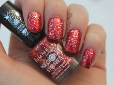 Ruby - Nail art - http://yournailart.com/ruby-nail-art/ - #nails #nail_art #nails_design #nail_ ideas #nail_polish #ideas #beauty #cute #love