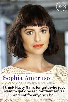 Sophia Amoruso is the founder of Nasty Gal, an online retail store for trendy clothing. She began with a store on e-bay but eventually transitioned to her own website with a huge, supportive following of fans and customers. #WomensHistoryMonth