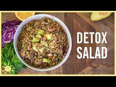 EAT | Detox Salad (Easy New Years Recipe!) - YouTube