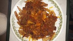 chilli cheese fries Chilli Cheese Fries, Beef, Cooking, Food, Baking Center, Eten, Meals, Ox, Ground Beef