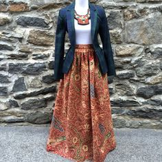 Hey, I found this really awesome Etsy listing at https://www.etsy.com/listing/201804014/regal-maxi-skirt