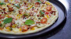 Massa de Pizza de 2 Ingredientes