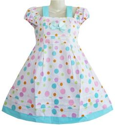 Girls Dress Multicolored Dot Children Clothing Sz 12-18 Months Sunny Fashion,http://www.amazon.com/dp/B00960R42W/ref=cm_sw_r_pi_dp_MyBjrb0VN1FX7MCQ