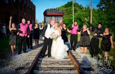 The Mill, Wedding Venue, Chattanooga, Chattanooga Wedding Photography, wedding photography, train getaway