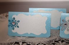 Frozen Inspired Place Cards Frozen Party place by JoSeasonsCrafts