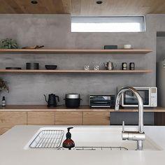 いいね!2,862件、コメント47件 ― kanaさん(@___omal)のInstagramアカウント: 「ㅤㅤㅤㅤㅤㅤㅤㅤㅤㅤㅤㅤㅤ ㅤㅤㅤㅤㅤㅤㅤㅤㅤㅤㅤㅤㅤ キッチン中央 早起きしておにぎり握ってアラバキ ㅤㅤㅤㅤㅤㅤㅤㅤㅤㅤㅤㅤ _________________ㅤㅤㅤㅤㅤㅤㅤㅤㅤㅤㅤㅤㅤ」 Kitchen Interior, Home Interior Design, Interior Decorating, Küchen Design, House Design, Inside Kitchen Cabinets, Natural Interior, Kitchen Dinning, Japanese Interior